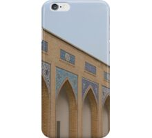 Khajeh rabi cemetery iPhone Case/Skin