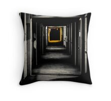 Tunnel to another dimension Throw Pillow