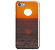 Carlsbad State Beach Sunset iPhone Case/Skin