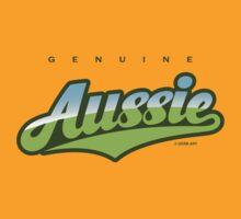 GenuineTee - Aussie (green/blue) by GerbArt