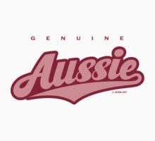 GenuineTee - Aussie (pink) by GerbArt