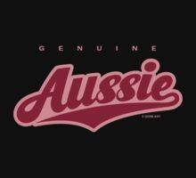GenuineTee - Aussie (darkpink) by GerbArt