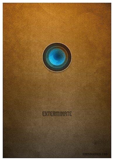 Doctor Who - Dalek Exterminate by KarmaOrange