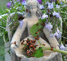 Lady Bug Angel  by Judy Grant