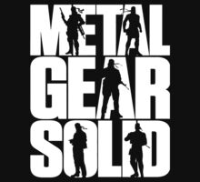 Metal Gear Solid (White) by ginabelluni
