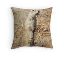 Richardson's ground squirrel Throw Pillow