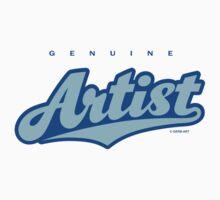 GenuineTee - Artist by GerbArt