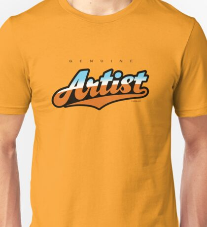 GenuineTee - Artist (blue/brown) T-Shirt