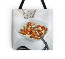 Pasta with a sting Tote Bag