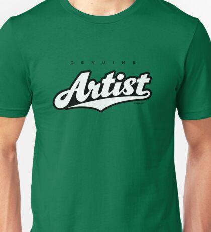 GenuineTee - Artist (white/black) T-Shirt