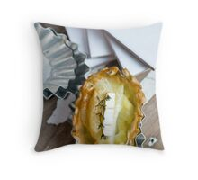 Leek and potato Throw Pillow