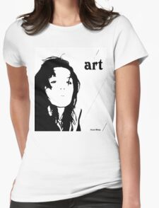 Torn Edges Womens Fitted T-Shirt