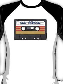 Old School Music Cassette Tape T-Shirt