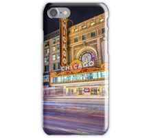 Iconic Chicago Theatre iPhone Case/Skin