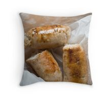 Sausages Throw Pillow