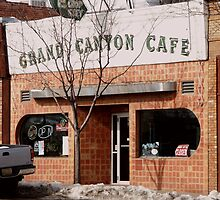 Grand Canyon Cafe by Michael Bailey