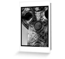 Gothic Granite Greeting Card