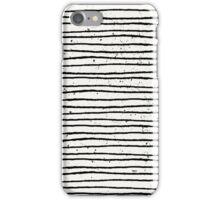 Hand Drawn Lines Print iPhone Case/Skin