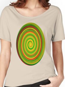 Twirl elipse Women's Relaxed Fit T-Shirt