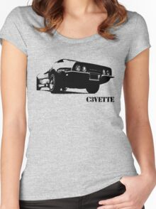 Corvette C3 Women's Fitted Scoop T-Shirt