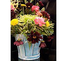 Floral arrangement Photographic Print