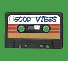 Good Vibes Cassette Tape - Awesome iPhone Case by RestlessSoul