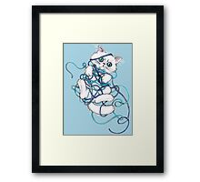 I Give Up!! Framed Print