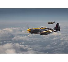 Mustang P51 - 442Sqdn RCAF Photographic Print