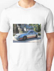 2003 BA GT-P: NZ Falcon & Fairlane Car Club Nationals 2015 Unisex T-Shirt