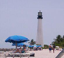 Beach, Key Biscayne Florida by Patricia Roberts