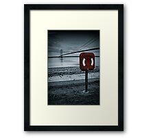 Lifesaver Framed Print