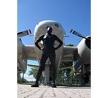 Airforce Way Zentai 01 Photographic Print