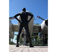 Airforce Way Zentai 02 Photographic Print