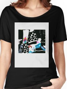 Cool Foot Steps Women's Relaxed Fit T-Shirt