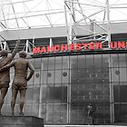 Manchester Utd Trinity salute Sir Matt Busby and Old Trafford by dlsmith