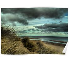 Sand Dunes - Early Evening Poster
