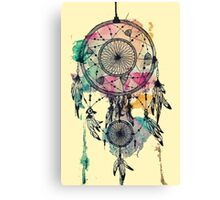 Poetry of a dream catcher Canvas Print