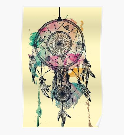 Poetry of a dream catcher Poster