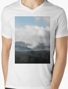 High Mist or Low Cloud? Gundagai, Australia. Mens V-Neck T-Shirt