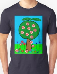 Decorative Apple Tree Unisex T-Shirt