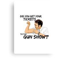 Dwight Schrute - The Gunshow Canvas Print