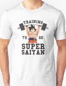 Training to go Super Saiyan 1 T-Shirt