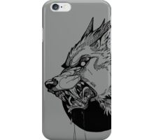 Werewolf moon inks iPhone Case/Skin