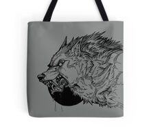 Werewolf moon inks Tote Bag