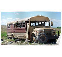 Hippie Bus Poster