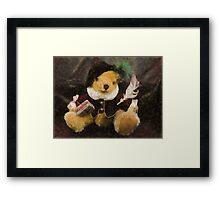 The Bard (Bear) Framed Print