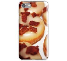 Maple syrup & bacon mini donuts iPhone Case/Skin