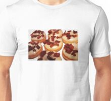 Maple syrup & bacon mini donuts Unisex T-Shirt