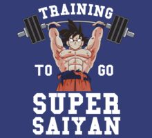 Training to go Super Saiyan by nvrdi