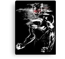 Angry Superman Man of steel Canvas Print